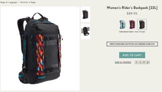 Burton Women's Rider Backpack