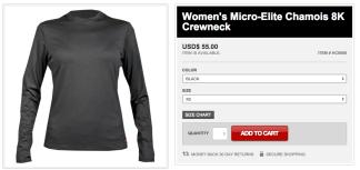 Women's Micro-Elite Chamois 8K Crewneck